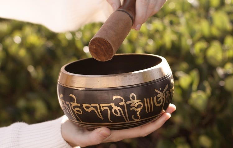 singing bowl meditation relax