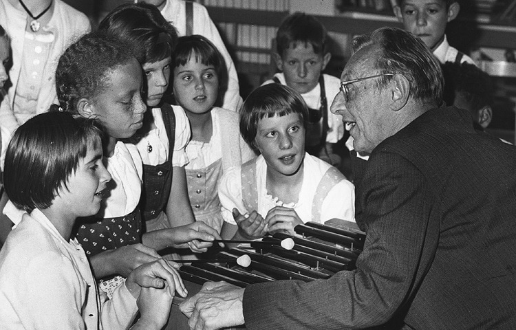 carl orff teach children music