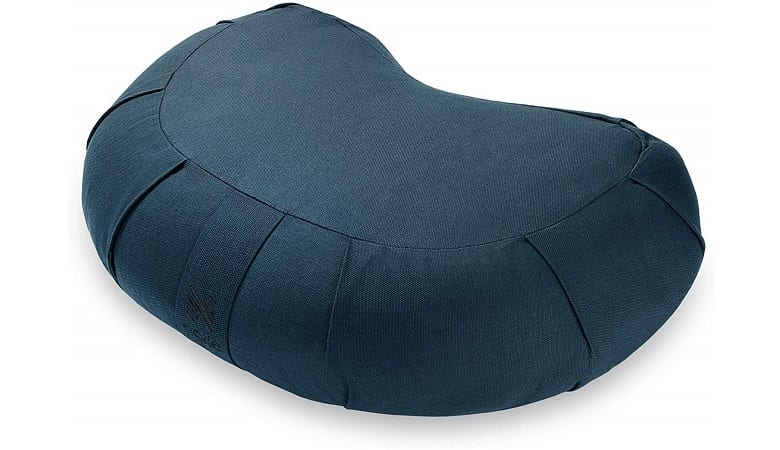 FITNESS ORGANIC COTTON CRESCENT MEDITATION CUSHION