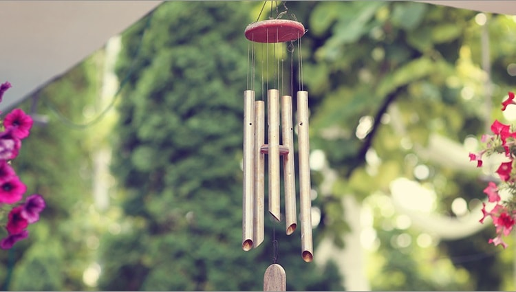 wind chimes for meditation