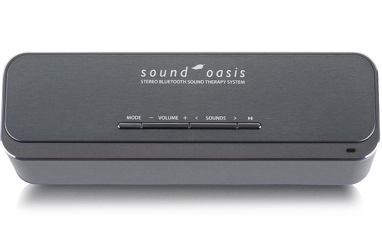 Sound Oasis Stereo Bluetooth Sound Machine For Sleep And Tinnitus Masking