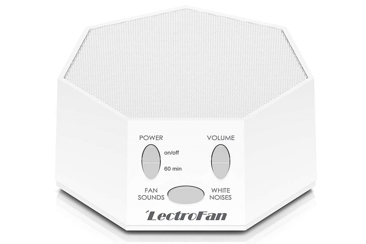 LectroFan Classic White Noise And Fan Sound Machine For Sleeping Adults & Kids