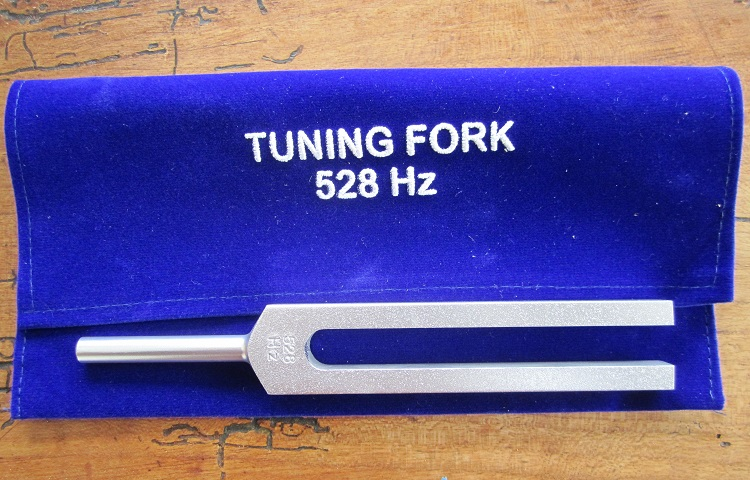528hz tunning fork