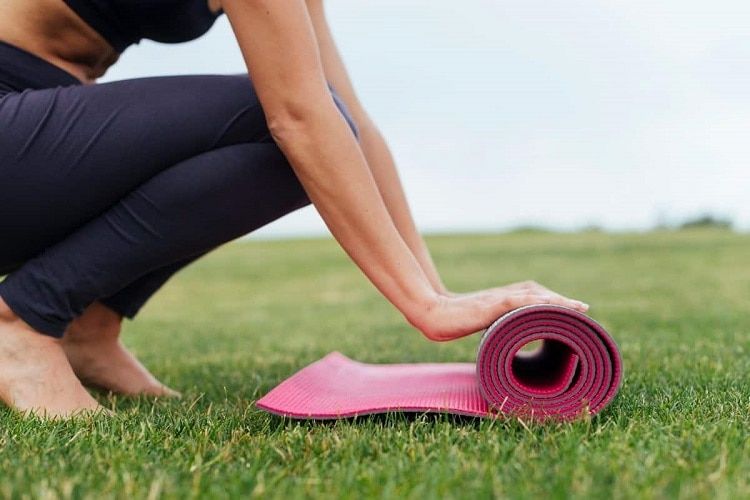 Why Does A Yoga Mat Get So Dirty?