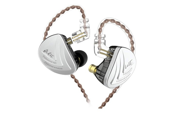 KZ AS16 Headphones Yinyoo Over-Ear Wired Earbuds Review